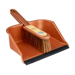 Groundsman Superior Strong Hand Held Dustpan & Brush Set Debris Sweeper