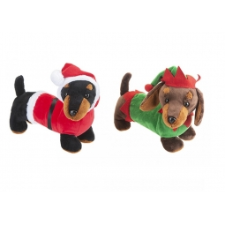 Christmas Sausage Dog