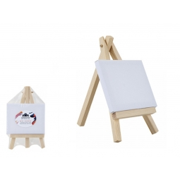 Kensington Mini Easel Canvas Stretched Cotton Artist Painting Canvas 9cm x 7cm
