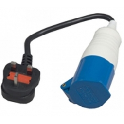 SunnCamp UK Camping Electric Hook Up Conversion Lead 3 Pin UK Plug