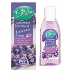 Floella Concentrated Disinfectant Kills Bacteria Odour Freshens Lavender 150ml