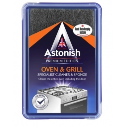 Astonish Premium Edition Oven & Grill Kitchen BBQ Cleaner Paste With Sponge 250g