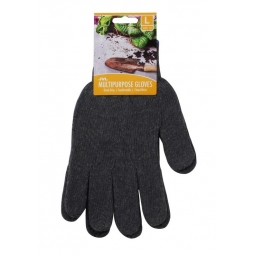 Large Jersey Dots Knitted Multipurpose Household Gardening DIY Gripper Gloves