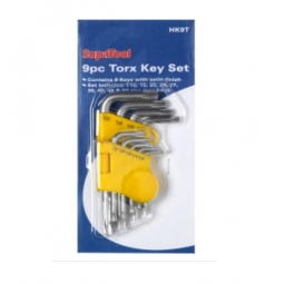 9 Piece Torx Key Set
