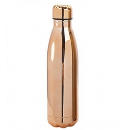Bronze Stainless Steel Double Wall Drinking Bottle Hot Cold Drinks Vacuume Flask