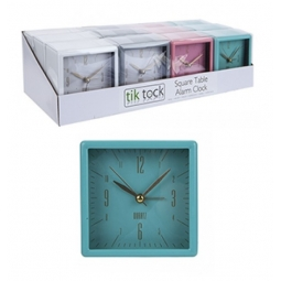 Battery Alarm Clock - Teal