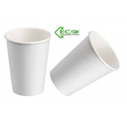 Pack Of 20 Eco Biodegradable Disposable Paper Drinks Cups Party 9oz Double Wall