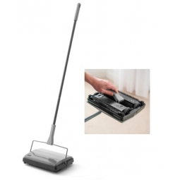 Addis Multi Surface Manual Cordless Floor Sweeper Hard Floor Carpet Broom Pet Hair Brush