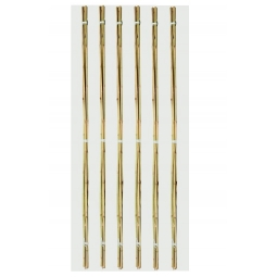 Pack Of 20 2ft Ambassador Garden Bamboo Canes Plant Support Canes 6/8mm Approx