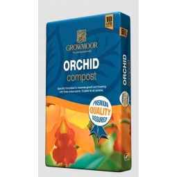 Growmoor Orchid Potting Compost 10L Bag Specially Formulated To Maximize Growth