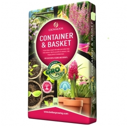 20L Container & Hanging Basket Compost Slow Release With Oasis Retains Moisture
