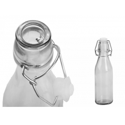 1l 1000ml Glass Swing Top Preserve Bottle With Stopper Oils Dressings Sauce