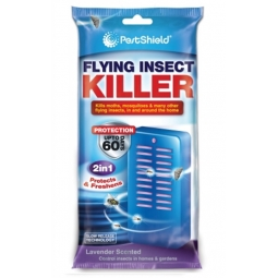 60 Day FLYING INSECT KILLER PORTABLE INDOOR OUTDOOR Fly Moth and Mosquito