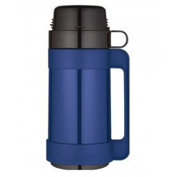 Thermos Mondial Insulated Glass Wall Thermal Drinks Travel Flask 1 Cup Soup 500ml
