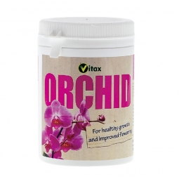 Vitax Nitrogen Orchid Feed Tub For Healthy Growth And Improved Flowering 200g