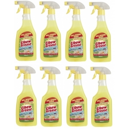 8 x Elbow Grease 500ml All Purpose Kitchen Laundry Household Cleaning Spray