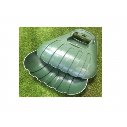 Ambassador Leaf Grabber - Large Heavy Duty Green leaf grabber/scoops