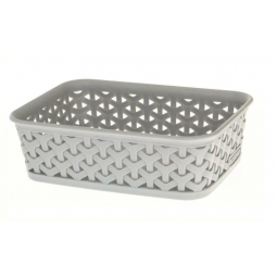 A6 Grey Basket