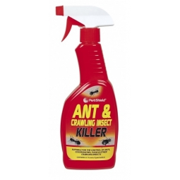 Pestshield - Ant & Crawling Insect Killer Spray Gun - 500ml Flea Cockroach