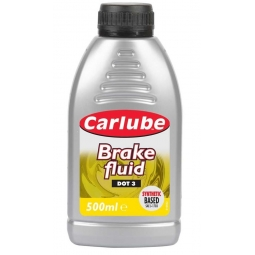 Carlube High Quality Brake & Clutch Fluid DOT 3 Synthetic Based 500ML