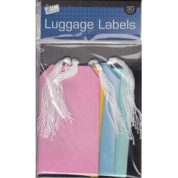 Coloured Luggage Lable Tags