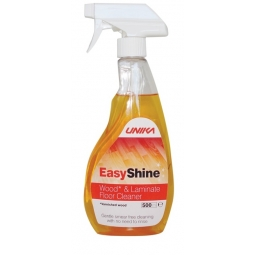 Easy Shine Varnished Wood & Laminate Floor Cleaner 500ml Smear Free Trigger Spray