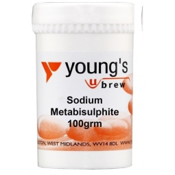 Youngs Home Brewing Equipment Steriliser Sodium Metabisulphite 100g Sterilising