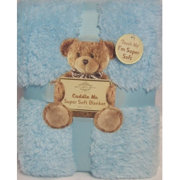 Super Soft Blue Blanket