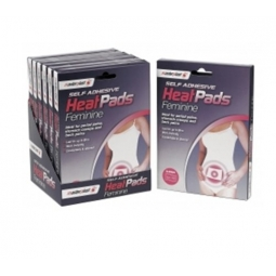 Masterplast Self Adhesive Feminine Heat Pads For Period Pain Cramp Back