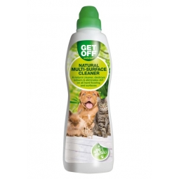 Get Off Pet Friendly Natural Multi Surface Cleaner Odour Eliminater Fresh Lemon 750ml