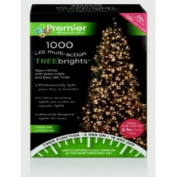 1000 LED Tree Lights Warm White