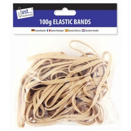Original Rubber Elastic Bands 100gm Assorted Size Bands Small Medium Large