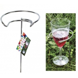 Outdoor Ground Wine Glass Holders Wine Holder Spike BBQ Party Beach