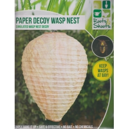 Large Paper Hanging Garden Decoy Wasp Nest Keeps Wasps At Bay Wasp Deterrent
