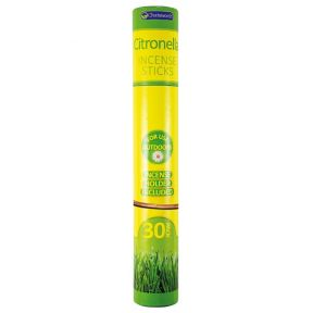 Chatsworth Outdoor Garden Citronella Incense Sticks With Holder - 40 Sticks
