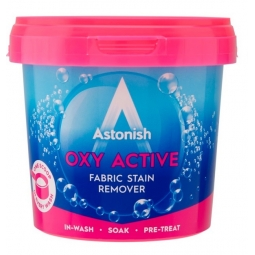 Astonish OXY Active Laundry Powder Fabric Stain Remover Non Bio Pe Treat 500g