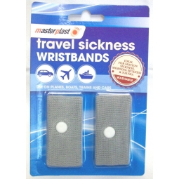 Anti Nausea Morning Sickness Motion Travel Sick Wrist Bands Car Sea Plane