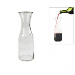 0.5L Clear Glass Water Wine Drinks Carafe Decanter Serving Fridge Milk Bottle