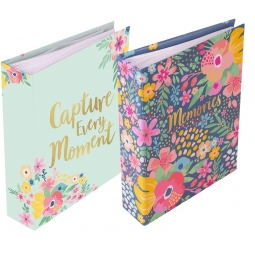 1 Floral Photo Album Book Holds 120 6 x 4 Inch Photos Capture Moments Memories