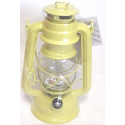 Lumineo Battery Operated Warm White LED Lantern Indoor Outdoor Camping Garden-Yellow