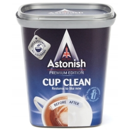 Astonish Cup Clean Tea Coffee Stain Remover Ceramic Stainless Steel 350g