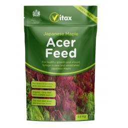 Vitax Organic Japanese Maple Acer Fertiliser Plant Feed In Resealable Pouch 900g