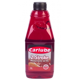 Carlube 2 Stroke Motorcycle Oil XL Chainsaw Lawnmower Petrol Engine Oil 1 Litre