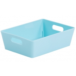 Duckegg Wham Plastic Rectangle Studio Handy Storage Basket 16cm x 12cm 770ml