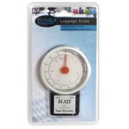 Travel Essentials Luggage Scales, Includes Tape Measure