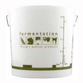 10 Litre Home Brewing Plastic Fermentation Vessel Bucket With Lid Brew Equipment