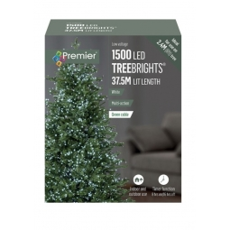 1500 LED Tree Lights Bright White