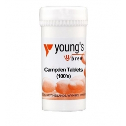 Youngs Home Brewing Wine Making 100 Campden Tablets Sterilising & Preservative