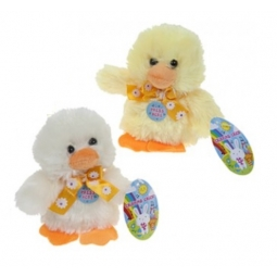 1 x Cute 12cm Chirping Real Chick Sound Spring Easter Chick Plush Teddy Gift