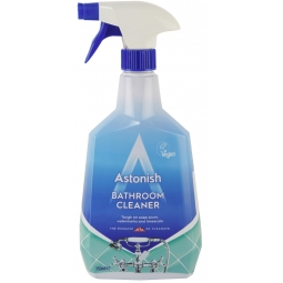 Astonish Bathroom Cleaner Spray Soap Scum Limescale Remover 750ml